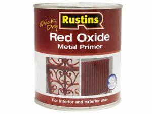 Quick Dry Red Oxide Metal Primer 1 Litre RUSROMP1LQ