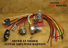 TONE MONSTER SD2WC EZ SOLDER Guitar Amp Amplifier Harness 2W Volume Gain HDPH 9V