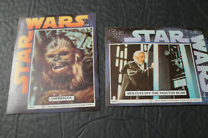 Two (2) STAR WARS CEREAL CARDS or STICKERS (?)   1977