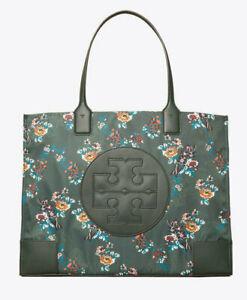 Tory Burch Nylon Printed ELLA TOTE ~NWT~ French Paisley Floral
