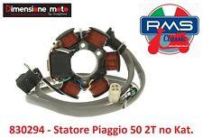 830294 - Statore Completo 6 Poli - 4 Fili per Piaggio Quartz 50 no Kat dal 1992