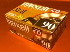 New listing Lot 10 Maxell Xl Ii High Bias Casette Tapes Type 2 90 Minutes New/ Sealed