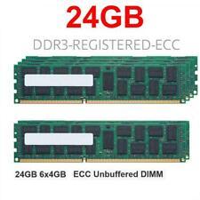 6x 4GB 24GB RAM RDIMM ECC REG DDR3 1333MHz HP Workstation C2 Z600