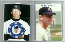 2017 MICKEY MANTLE, NEW YORK YANKEES, THICK POKER CHIP CARD, STANDARD SIZE