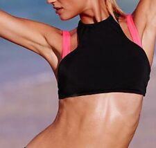 New Victorias Secret Double Strap Off Shoulder High Neck Bikini Top Medium