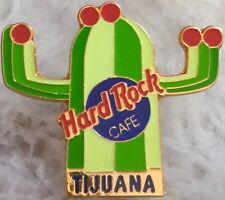 Hard Rock Cafe TIJUANA 1990s Green & Lime CACTUS w/Red Flowers PIN - HRC #9847