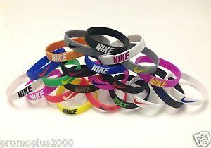 Nike Sport Baller Band Silicone Rubber Bracelet Wristband