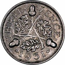 George V Threepence Coins (1910-1936)