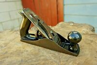Vintage SARGENT No.408-32 Jack Plane Smooth Bottom,Harwood Handles, Made In USA