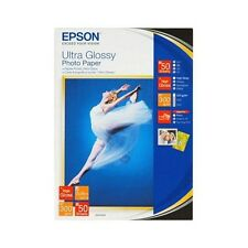 Epson (13 x 18cm) Ultra Glossy Photo Paper (50 Sheets)