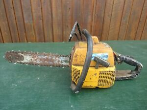 """Vintage PARTNER Chainsaw Chain Saw with 14"""" Bar"""