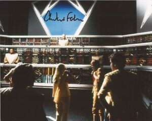 Andrew Forbes Dr Who hand signed photo with COA UACC & AFTAL reg dealer