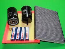 Ölfilter Luftfilter Benzinfilter Zündkerzen Pollenfilter VW Golf 3 1.8 (55/66kW)