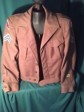 World War II Jacket, Wendel Moore Estate, Decatur Illinois Transmission Mechanic