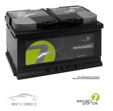 Autobatterie Seven Parts Starterbatterie Akku 12V 45AH Performance Audi Ford VW