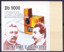 Sao Tome 2007 MNH Imperf, Lumiere Brothers, Invented 1st Color motion Pictures -