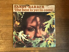 Sandy Barber Sealed LP - The Best Is Yet To Come - Old World Records 1977