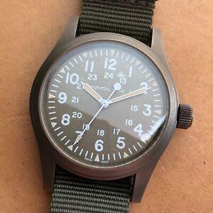 Hamilton Khaki PVD Field Mechanical Watch H694490
