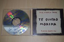 Jose Maria Cano - Te quiero morena. JUST11501 CD-SINGLE PROMO