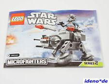 LEGO BAUANLEITUNG Star Wars 75075 AT-AT Neu No PARTS
