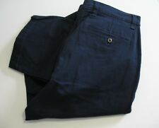 Dockers Mens D2 Straight Fit Washed Khaki Stretch Pants Navy Sz 34x32 - NWT