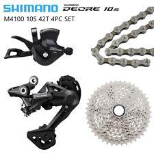 Shimano Deore M4100 10 Speed Drivetrain Groupset 42T 1X10S MTB Group 4PCS SET