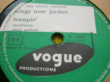 78 rpm-WINGS OVER JORDAN - Trampin' - VOGUE V 102