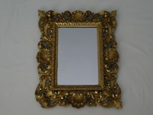 Antique Rococo Style Giltwood & Gesso Mirror