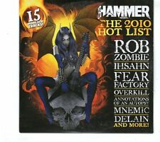 (GR740) Metal Hammer 201 The 2010 Hotlist, 15 tracks various artists - 2010 CD