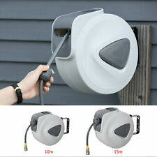More details for retractable air hose reel wall mounted workshop compressor tool 1/4