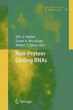 Springer Series in Biophysics: Non-Protein Coding RNAs 13 (2008, Hardcover)
