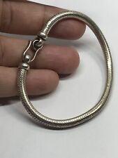 "Sterling Silver Snake Bracelet 23.7 Grams  7.5"""