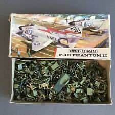 Vintage Model Soldiers In Airfix Phantom Red Stripe Box 00 1:72 1960's
