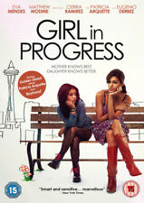 Girl in Progress DVD (2015) Eva Mendes, Riggen (DIR) cert 15 Fast and FREE P & P