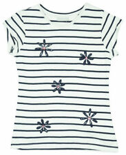 Camiseta de niña de 2 a 16 años multicolor 100% algodón