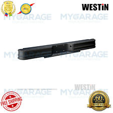 Westin Fey Diamondstep Rear Bumper Black Powder Coated Steel 66000