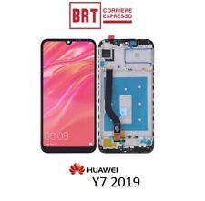 LCD FRAME PER HUAWEI Y7 2019 DUB-LX2 DUB-L22 TOUCH SCREEN DISPLAY SCHERMO NUOVO