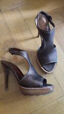 Walter Steiger Gr 37,5 NEU Sandalette Handmade Pumps Paris