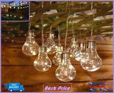 Brand New Solar Light Bulb String Lights 10pk Includes Battery