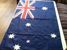 AUTRALIAN FLAG-MEASURES 62 INS WIDE 35ins.HIGH-POLYESTER-NEW