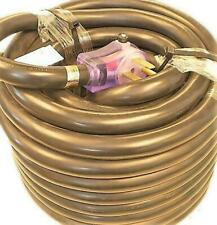 Happy Trails RV 50 Amp - 75 ft RV Extension Cord with Pull Handles and Lighted E