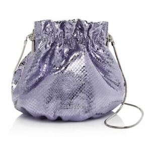 Marc Jacobs The Soiree Leather Chain Strap Crossbody Bag in LAVANDER ~DUST BAG