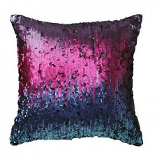 Logan and Mason LEXUS JEWEL Sequins Square Filled Cushion 43 x 43cm ULTIMA NEW