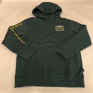 Vans New Van Doren Fence Jasper PO Hooded Sweatshirt Youth Boy's Medium (10-12)