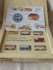 "#8251# BREKINA (199) Set ""50 Jahre VW Transporter"" - 2 x VW T1a & 4 x VW T1b"