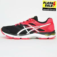 Asics Gel Zone 6 Womens Premium Running Shoes Fitness Gym Trainers Black UK 8