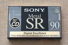 SONY Metal SR-90 sealed cassette tape.(1) . Type IV METAL. NEW!