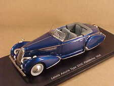 Spark 1/43 Resina 1936 Lancia Asturia Tyhpe 233c Pininfarna, Met. Blu #S2724