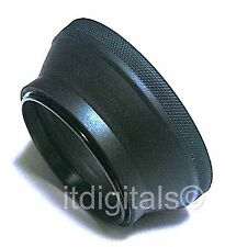 49mm Rubber Folding Lens Hood Sun Shade Collapsible 49 mm Screw-in U & S