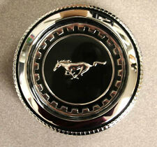 New! 1969-1970 Mustang Twist On Gas Cap standard cars Chrome Fuel Cap By Drake